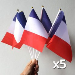 Five French Flags