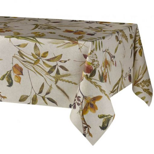 Autumn Leaves Stain Resistant Tablecloth
