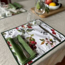 Cherry Coasted Placemat Set