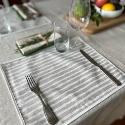Elegance Coated Placemat Setting Front