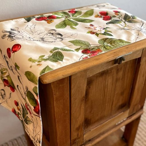 Table Runner Double Sided Cherry