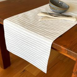 Table Runners Double Sided Elegance Stripes Across