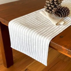 Table Runners Double Sided Elegance Stripes Down