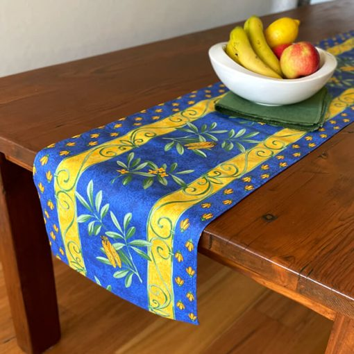 Table Runners French Cotton Cigale