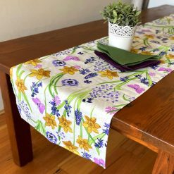 Table Runners French Linen Narcisse Napkins