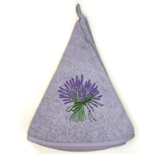 French Hand Towel Lilac Lavender