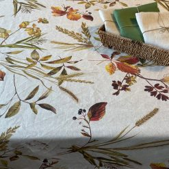 Autumn Leaves Rectangle Easy Care Table Cloth