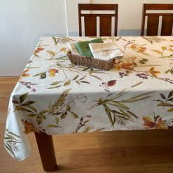 Autumn Leaves Rectangle Stain Resistant Table Cloth