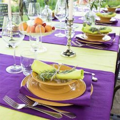 Purple Table Runner Placemats